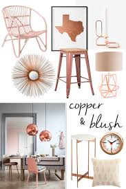 home decor accents stores copper and blush home decor
