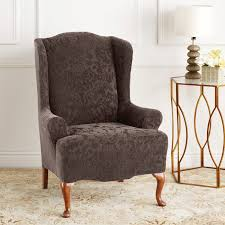 Living Room Chair Cover Charming Design Living Room Chair Covers Creative Brown Living