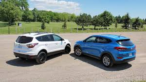 ford hunting truck comparison 2017 ford escape vs 2016 hyundai tucson
