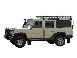 land rover defender land rover defender 110 slimline ii 3 4 roof rack kit by front