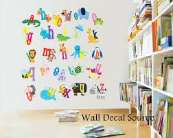 Wall Decal For Nursery by Attractive Nursery Decor Alphabet Wall Decals Alphabet Letters For