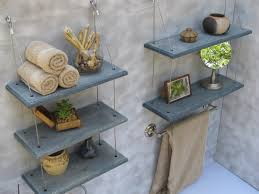 bathroom ideas corner bathroom wall shelves with curved towel bar