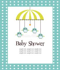 baby shower card baby shower card for boys stock vector illustration of background
