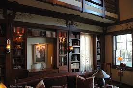 arts and crafts home interiors the ornamentalist barbra streisand s arts and crafts library