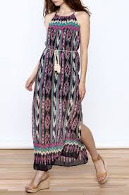 tribal dress rousseau tribal maxi dress from island by epic stores