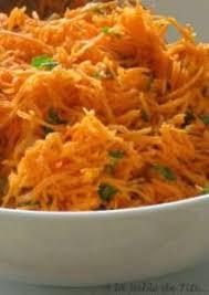 cuisiner des carottes une salade orientale de carotte râpée