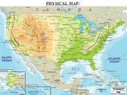 map of ne usa and canada physical map of northeast us and central america countries