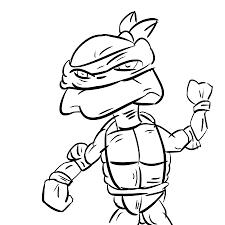 simple sea turtle drawing simple ninja turtle sketch by