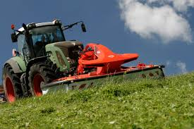 huge array of kuhn kit at uk dairy day abc