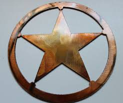 Texas Flag Decor Compact Metal Texas Star Wall Decor Western Wall Plaque Cowgirl