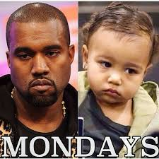 North West Meme - kanye west explains why he doesn t smile not smiling makes me