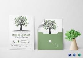 printable family reunion invitation templates template weekly calendar