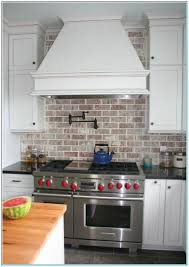 red brick backsplash torahenfamilia com ceramic tile that looks