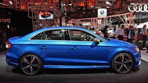 audi rs 3 sedan the audi rs3 shows up at with five cylinders 400 hp and a