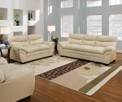 soho natural sofa and loveseat leather living room sets
