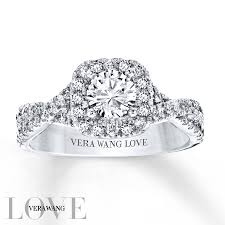 kay jewelers class rings jared vera wang love ring 1 carat tw diamonds 14k white gold