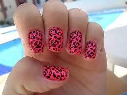nail designs pink cheetah nail designs acrylic nail designs