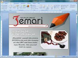 membuat novel di ms word bikin cover majalah dengan word 2007 youtube