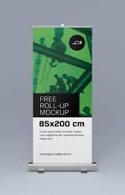 Muito Free roll-up mockups on Behance @YK63