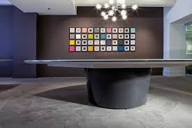 Back Painted Glass Conference Table Prismatique Orbit Conference Table With Back Painted Glass Top