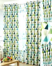 Blue Green Sheer Curtains Green And White Shower Curtain Blue Green Sheer Curtains Modern