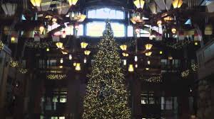 it is christmas time at the grand californian hotel and spa