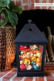 Lantern Decorating Ideas For Christmas This Was Done By A Dear Friend Of Mine She Does Amazing