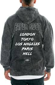 paper root the tour mineral wash hoodie karmaloop com