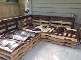 Pallet Patio Furniture by Furniture Awesome Textured Wood Pallet Outdoor Furniture Coffee