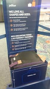 amazon com boardingblue jetblue airlines rolling personal item