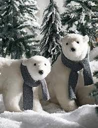 Polar Bear Christmas Tree Decorations by 24 Best White Polar Bear Of Christmas Tree Images On Pinterest