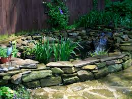 backyard pond kits waterfall home outdoor decoration