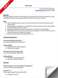 Project Engineer Resume Example by Chemical Engineer Resume Sample Resume Examples Pinterest