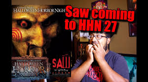 creator of halloween horror nights hhn 27 saw the games of jigsaw youtube