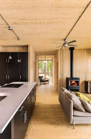Prefab Room Prefab Lake Cottage With Cross Laminated Timber Construction