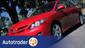 2013 toyota corolla reviews and 2013 toyota corolla sedan new car review autotrader youtube