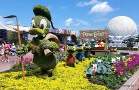 count characters in bloom at epcot u0027s flower u0026 garden festival