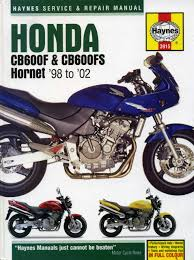 honda cb600f and cb600fs hornet service and repair manual 1998 to