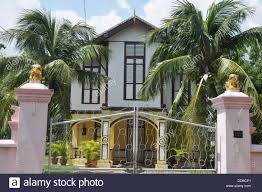 malacca malaysia a colonial house stock photo royalty free