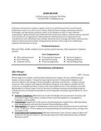 Office Manager Resume Examples by Customer Service Resume 15 Free Samples Skills U0026 Objectives