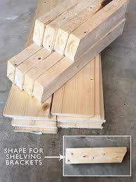 How To Build Wood Shelf Supports by Laundry Room Shiplap And Diy Wood Shelves Easy Tutorial