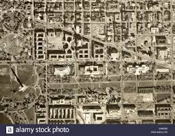 Map Washington Mall by Historical Aerial Photograph Of Capitol Mall Washington Monument