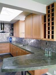 kitchen concrete kitchen countertops pictures ideas from hgtv new