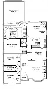 one and a half story house plans with walkout basement 10122