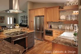 tiger maple wood kitchen cabinets cabinets denver colorado cabinetry production stock semi