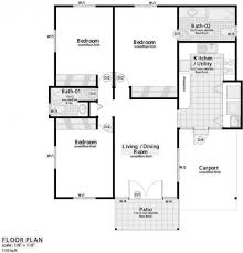 fascinating 3 bedroom flat floor plan small house plans pland two