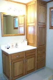 bathroom vanity and linen cabinet combo bathroom vanity linen cabinet s bathroom vanity with attached linen