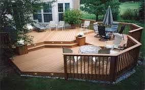 Backyard Deck Design Ideas Patio Deck Plans Ideas Wooden For Small Backyard And Inspirations