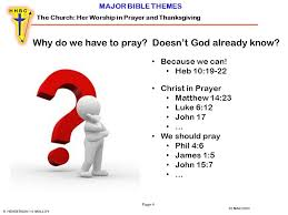 the church worship in prayer and thanksgiving ppt