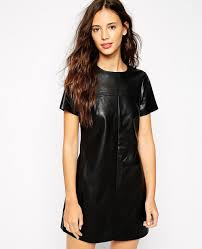 leather dress women awesome fit leather dress